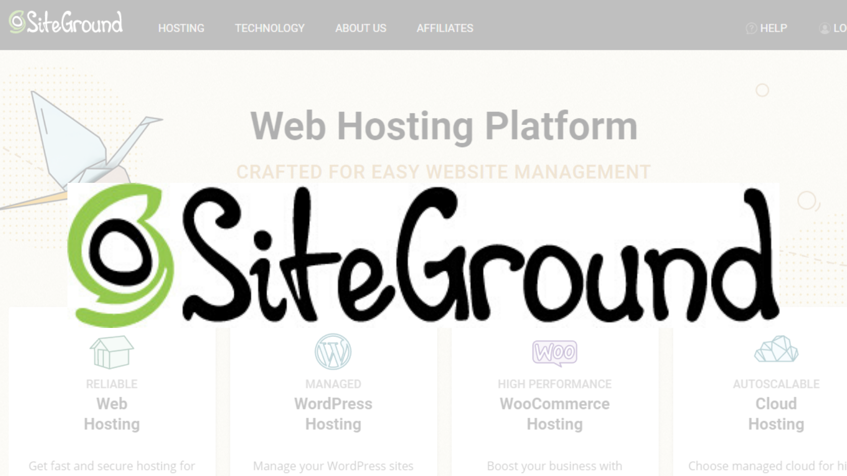 Perché ho scelto siteground per il mio webhost